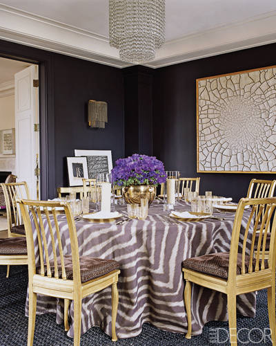 Aerin Lauder Manhattan Dining Room