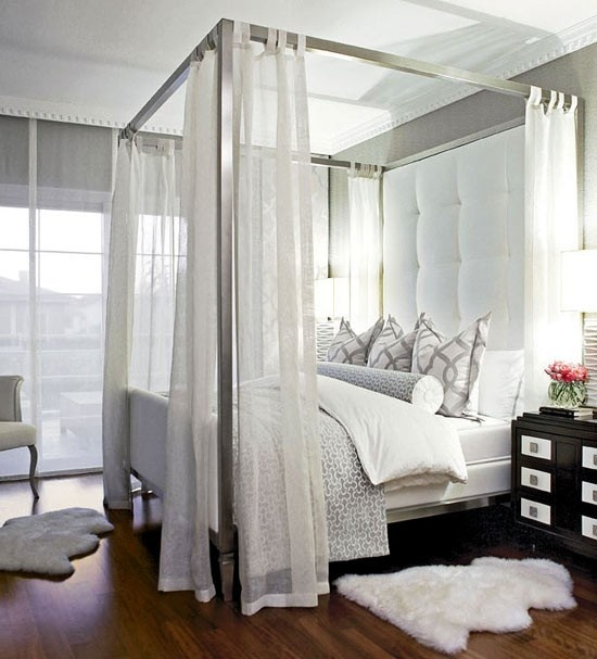 Superb Silver Canopy Bed Frame Part - 2: Have-always-wanted-a-canopy-bed