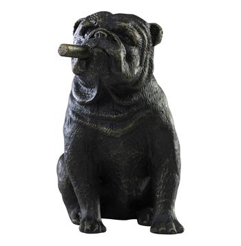 Grady-The-Bulldog-Smoking-Cigar-Sculpture-4006