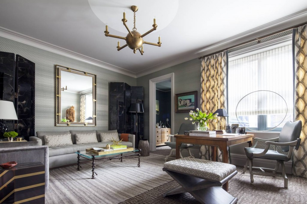 how to design a masculine room