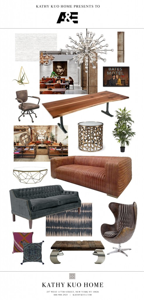 A+E office lounge