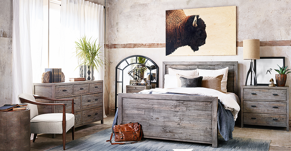 Rustic Bedroom Furniture Set