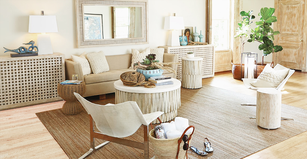 ... Beachy Living Room Furniture ...