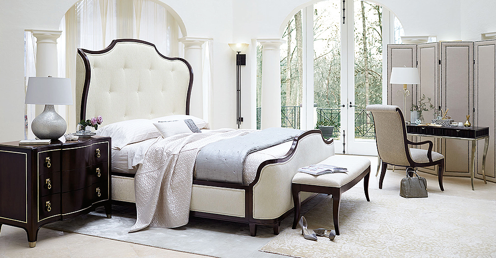 Modern Bedroom Furniture Set. Modern Classic Furniture  Lighting   Home Decor   Kathy Kuo Home