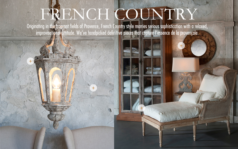 A selection of French Country Furniture, Country French Furniture or French Provincial Furniture. We like to refer to it as French Provencal Furniture.