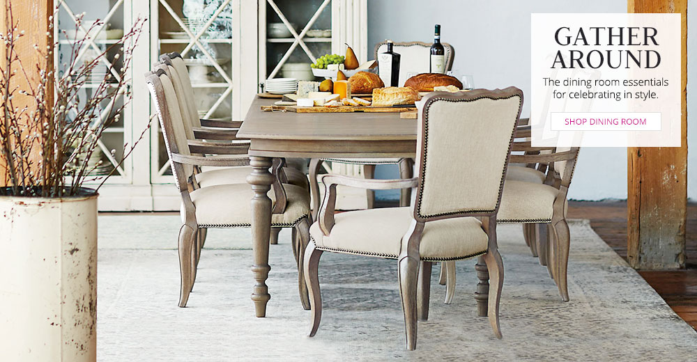 HOLIDAY 2015 - Gather Around - Shop Dining Rooms