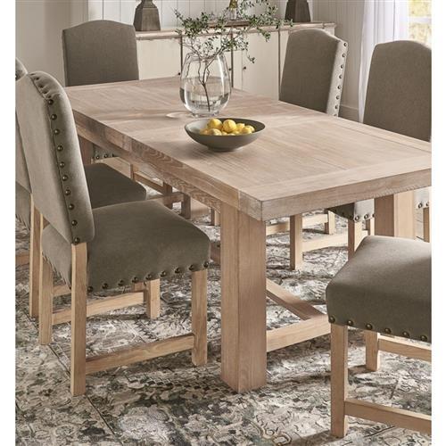 Bryne Modern Classic Natural Oak, Modern Oak Dining Room Furniture