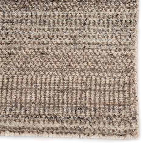 Uriel Modern Classic Grey Brown Hand Woven Solid Rug 5 X 8 5 X 8 Kathy Kuo Home