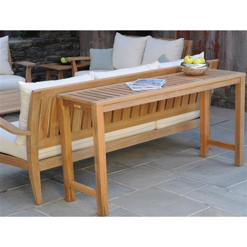 Outdoor Sofa Table With Stools Off 53, Patio Sofa Table