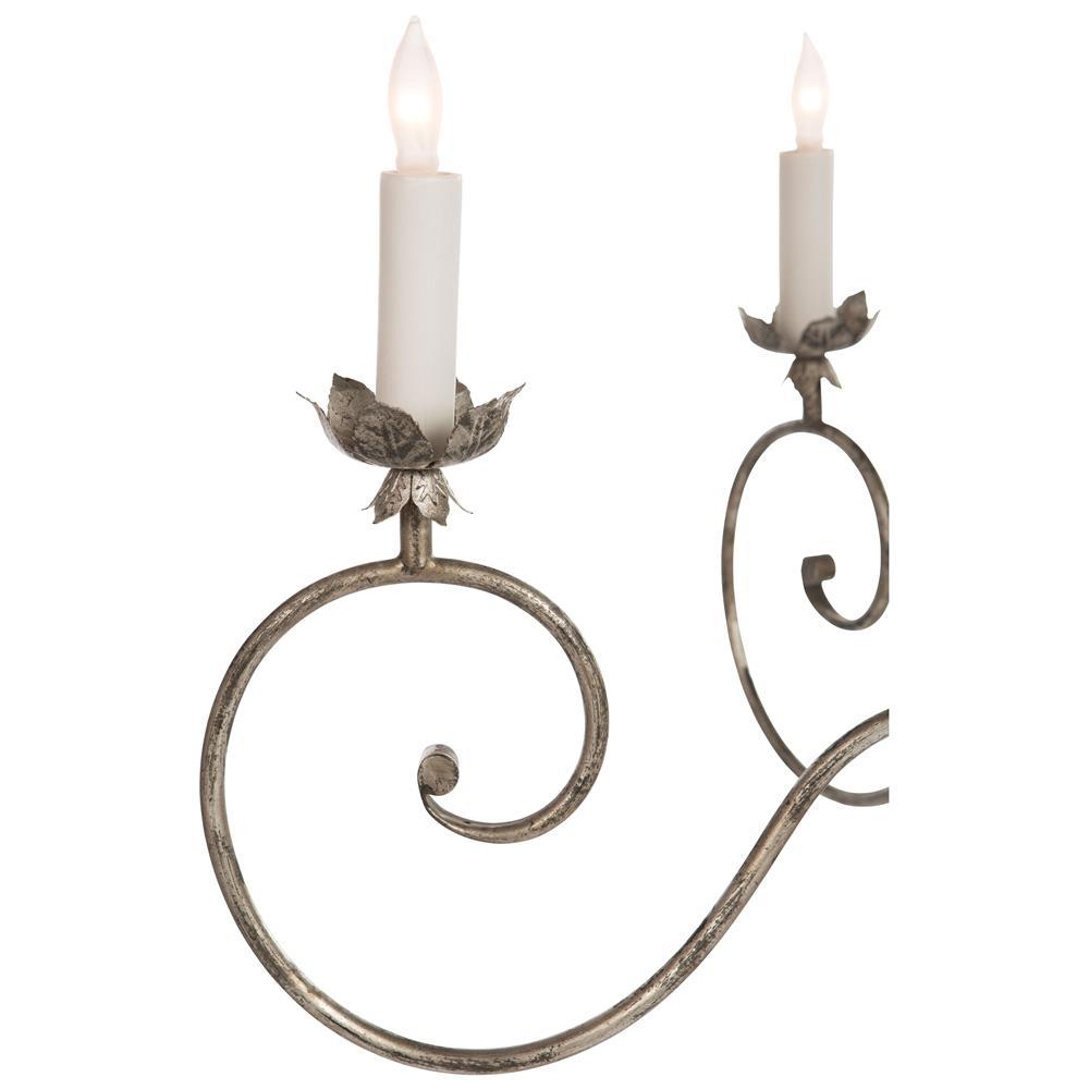 pendant white bilbao bilbo sputnik products solaria silver chandelier leaf round and