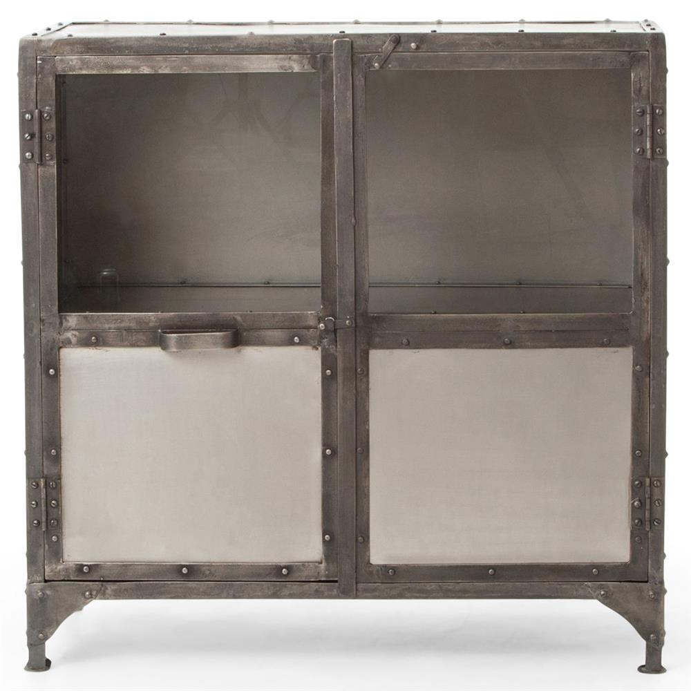 fronzoni industrial loft wide metal shoe locker style. Black Bedroom Furniture Sets. Home Design Ideas