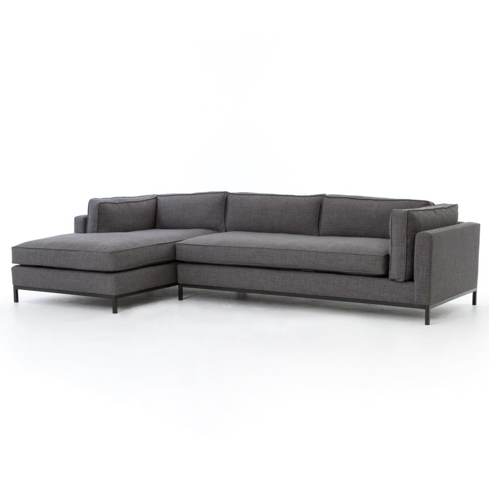 ... Chaise Sectional Sofa | Kathy Kuo Home. View Full Size ...