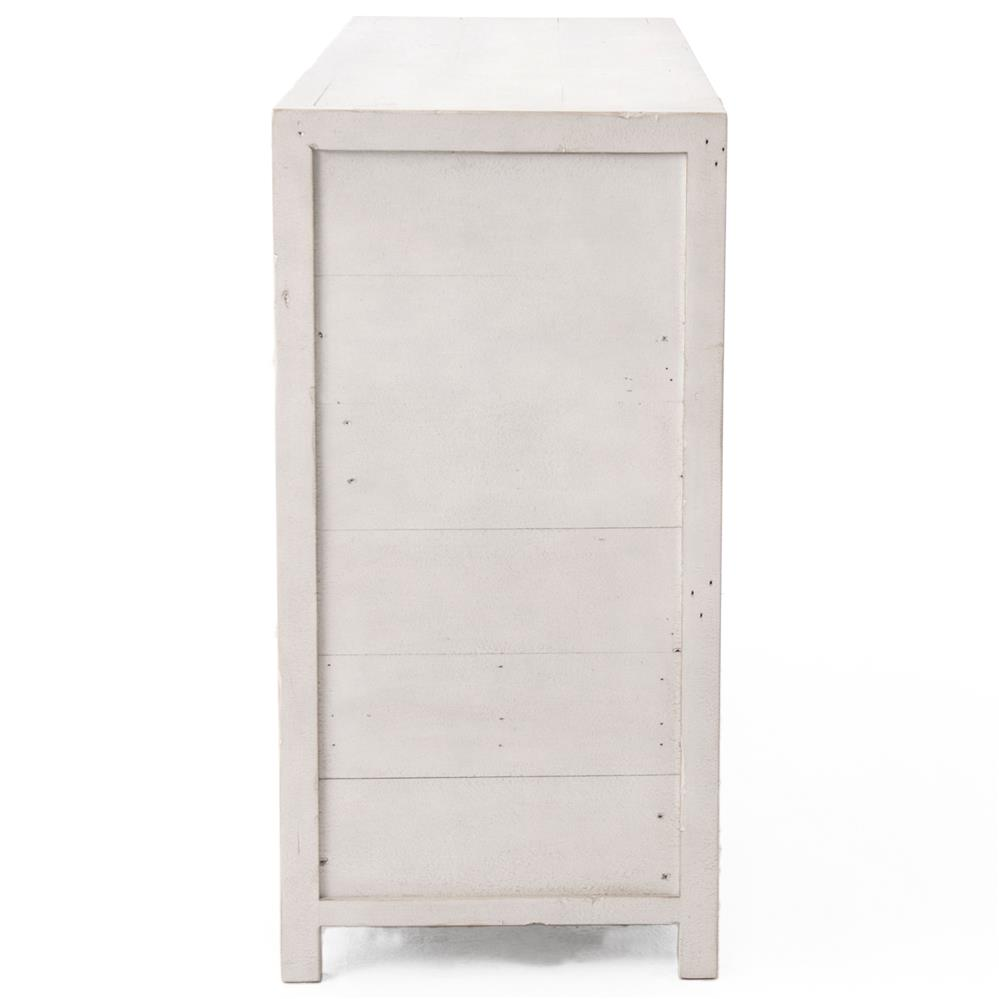 drawers for bedroom blanca coastal white wash reclaimed wood 7 drawer 11469