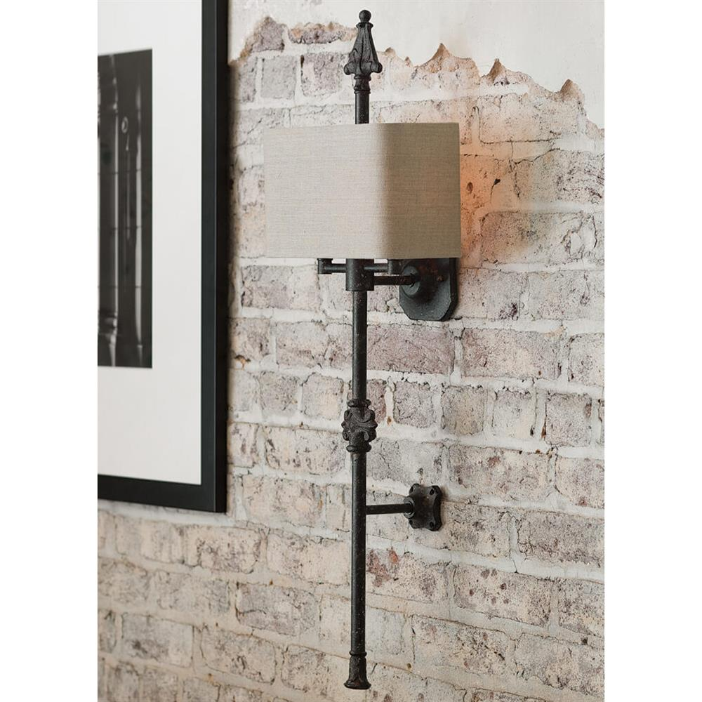 Carre french country antique iron carved 2 light wall sconce carre french country antique iron carved 2 light wall sconce kathy kuo home view full size amipublicfo Image collections