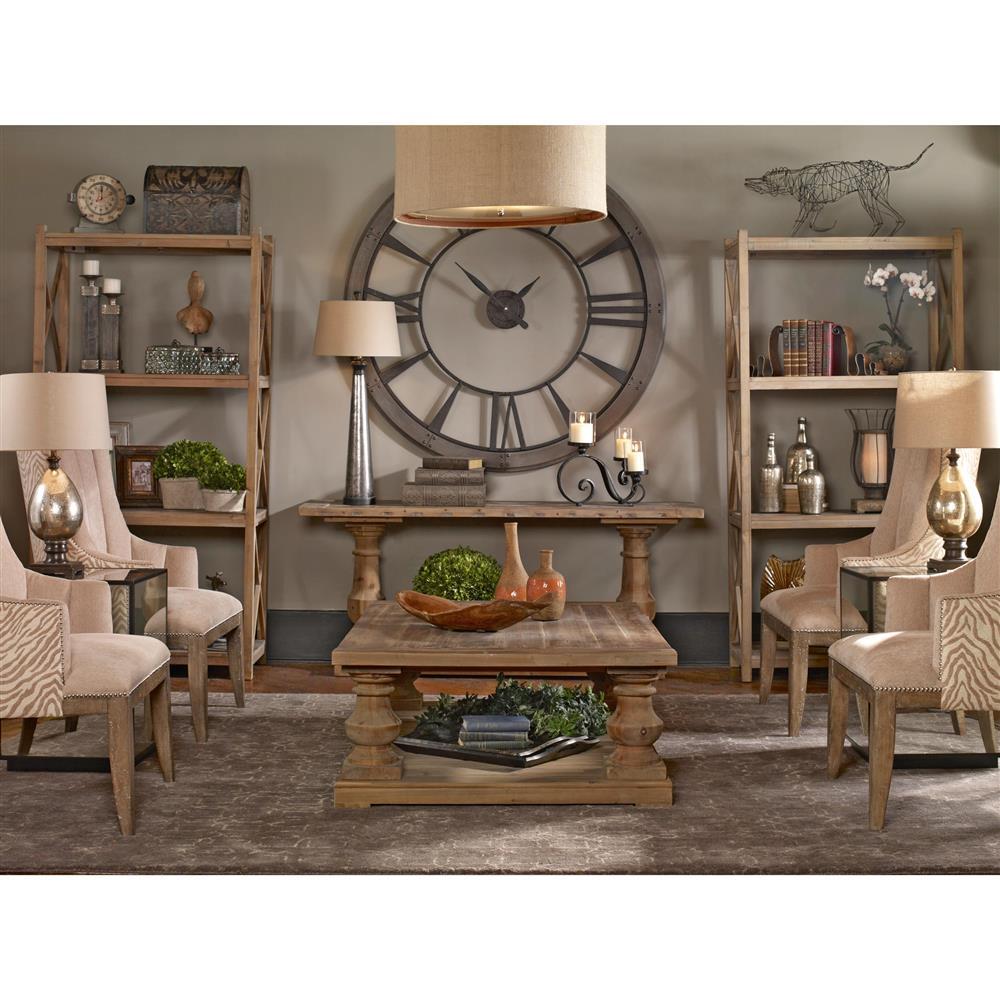Shane Industrial Loft Silhouette Rustic Bronze Wall Clock