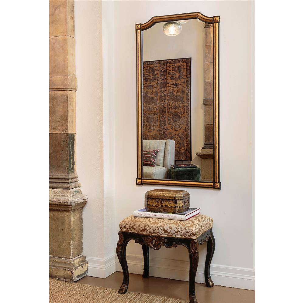 colmar french country deco brown distressed gold gilt mirror. Black Bedroom Furniture Sets. Home Design Ideas