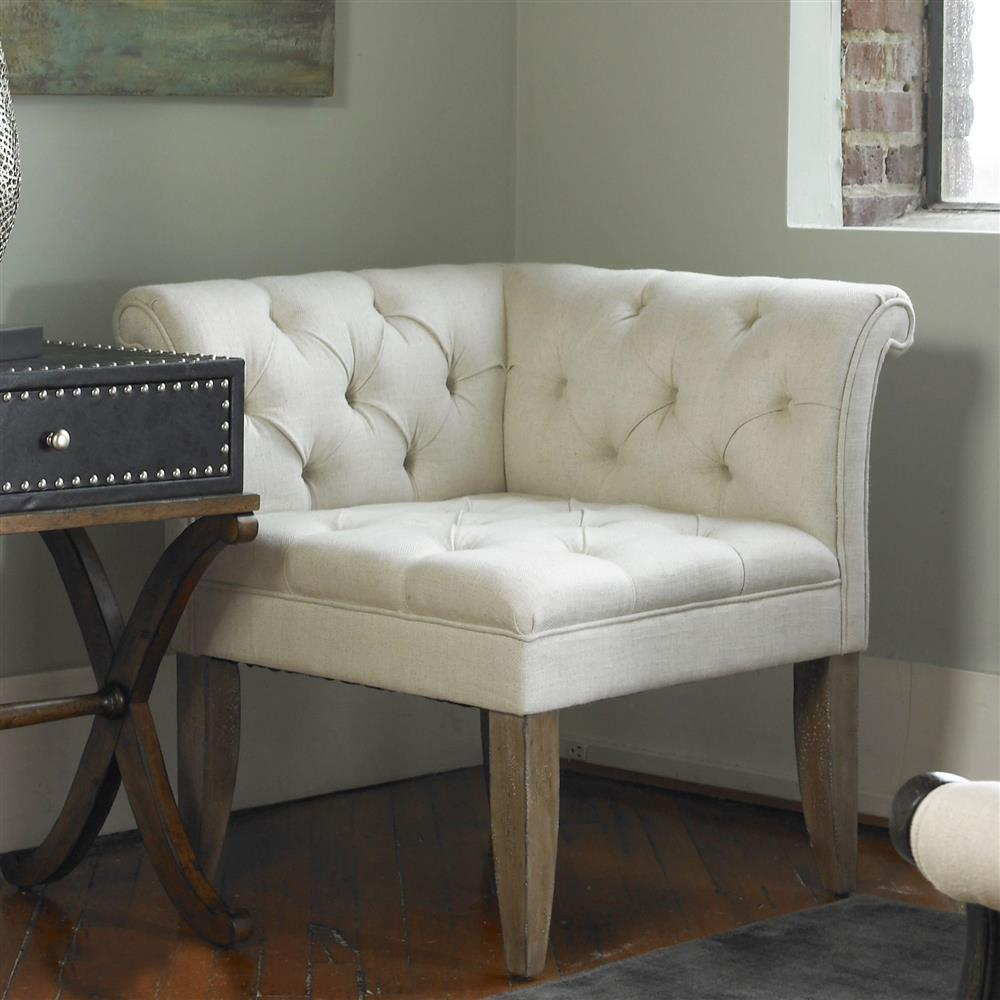 corner chairs living room. view full size  Trenton French Country Tufted Beige Linen Corner Chair Kathy Kuo