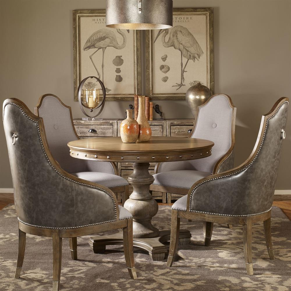 Silver Wood Dining Room Table