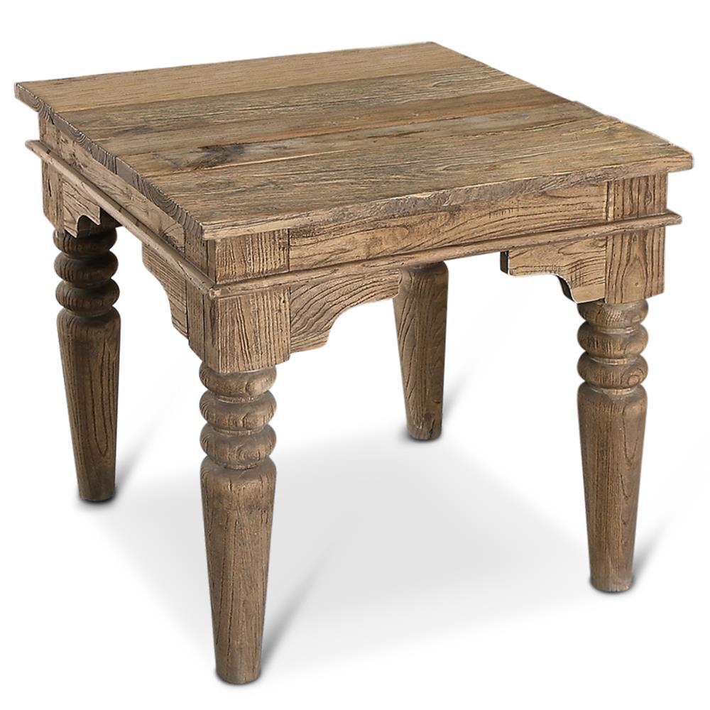 Perfect Macon French Country Reclaimed Wood End Table   Kathy Kuo Home. View Full  Size ...
