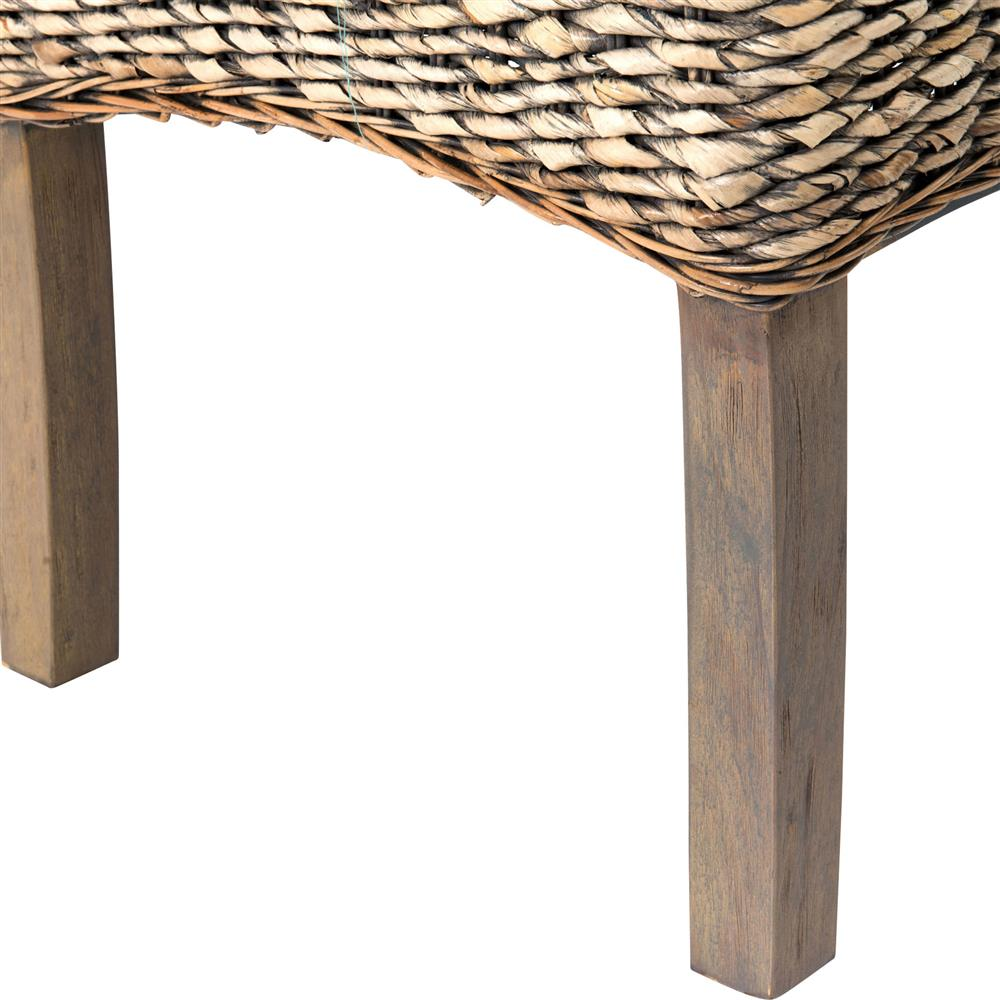 Woven Banana Leaf Coffee Table Rascalartsnyc