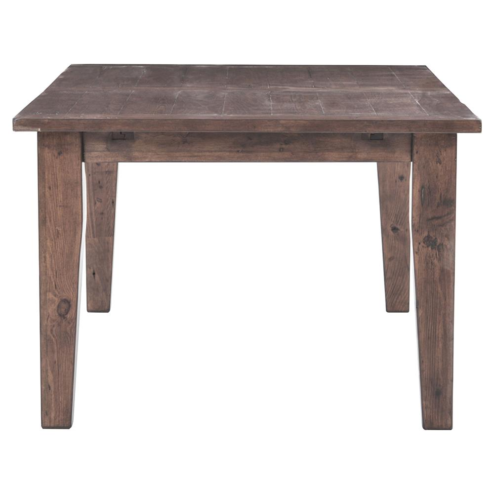 rustic wood dresser abram rustic lodge wood farmhouse adjustable dining table 13111