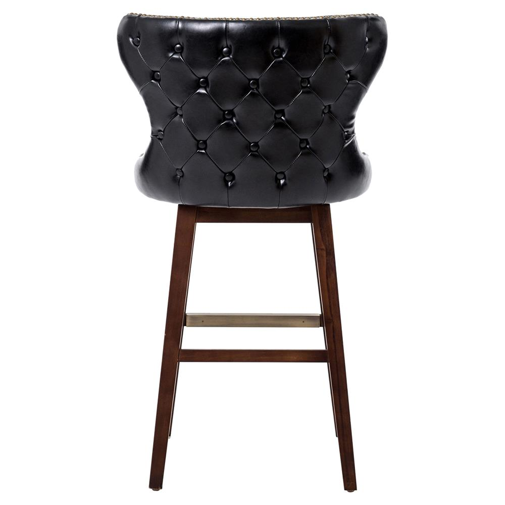 sc 1 st  Kathy Kuo Home : tufted leather bar stool - islam-shia.org