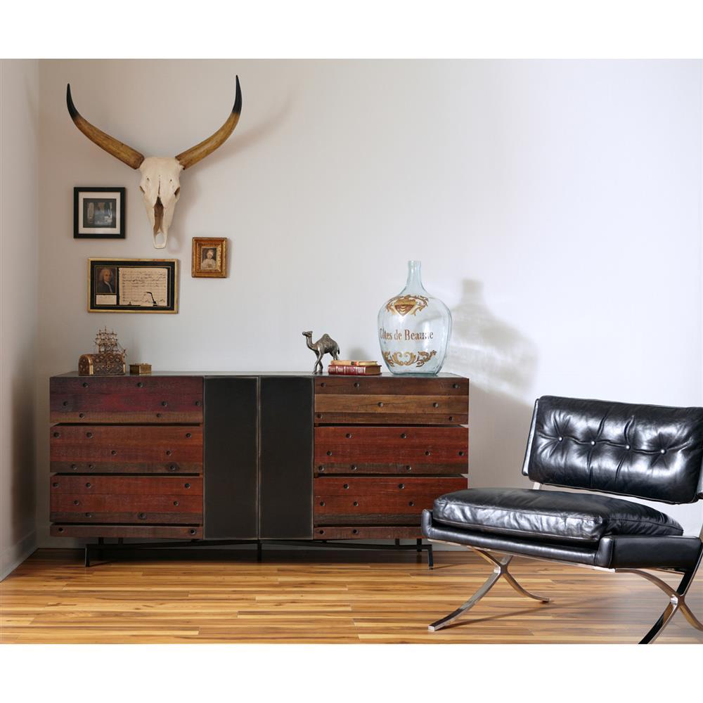 driftwood rustic modern dresser fairfax