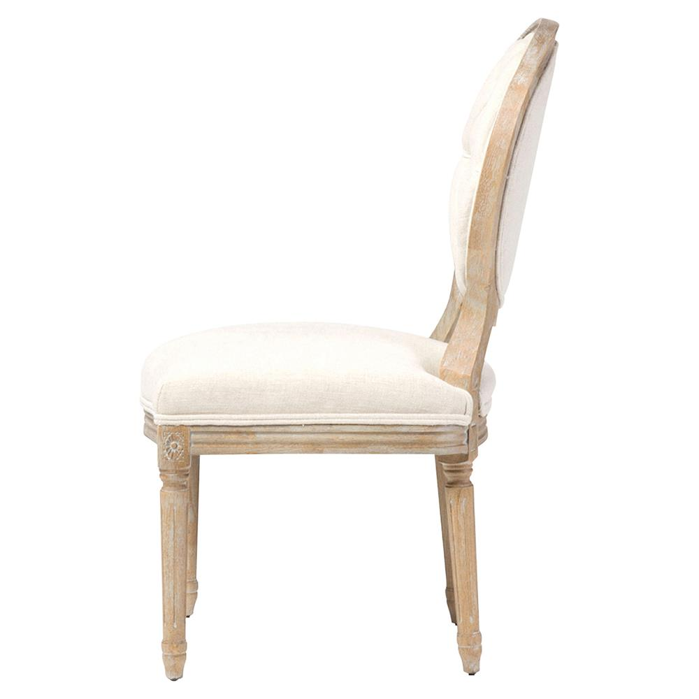 April French Country White Linen Wood Dining Chair Kathy  : product131772 from www.kathykuohome.com size 1000 x 1000 jpeg 37kB