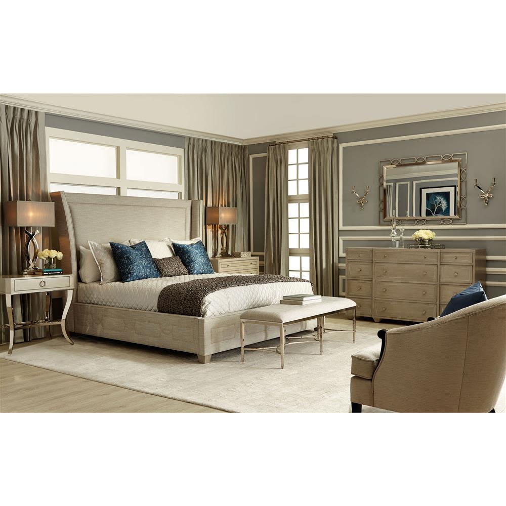 swank of king bedroom bed furniture amini aico california michael hollywood