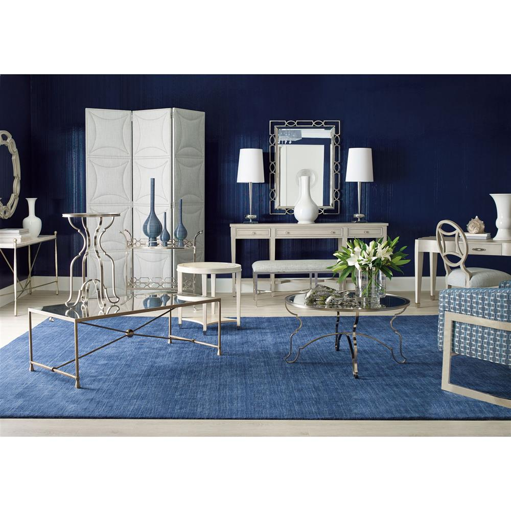 Champagne Mirrored Coffee Table