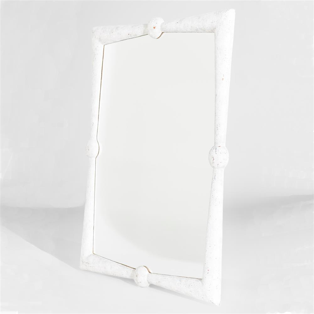 Coastal Wall Mirrors manoela coastal modern rustic white wall mirror | kathy kuo home
