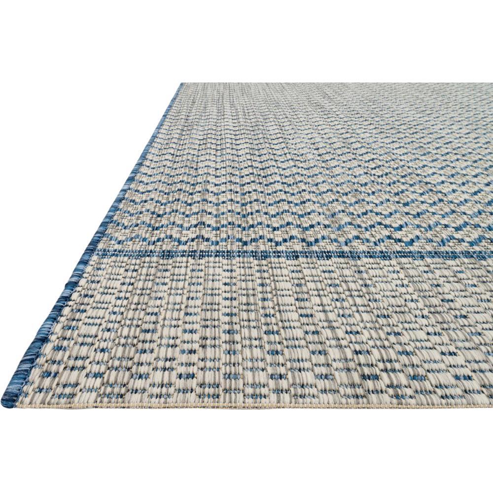 Yucatec bazaar grey blue zig zag outdoor rug 7 39 10x10 39 9 for 10x10 carpet