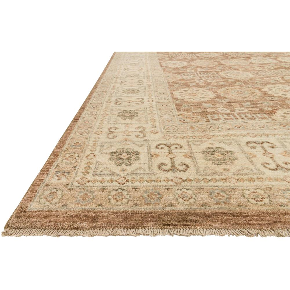 Ismetta Global Camel Beige Medallion Wool Rug 3x5