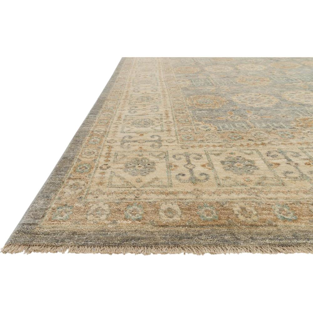 ismetta global storm grey beige medallion wool rug