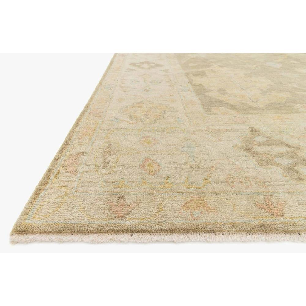 Forrest French Antique Moss Rose Wool Rug