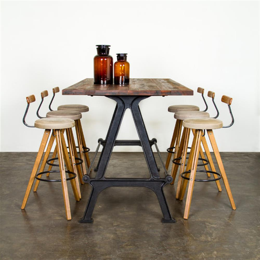 ... Cast Iron Bar Table | Kathy Kuo Home. View Full Size ...