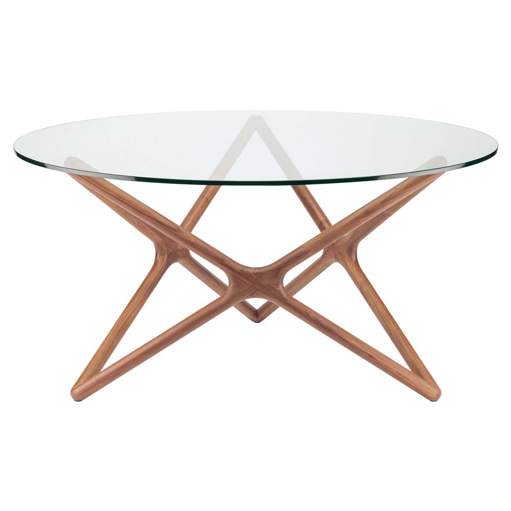 centauri modern glass top wood mid century dining table 59d kathy kuo home. Black Bedroom Furniture Sets. Home Design Ideas