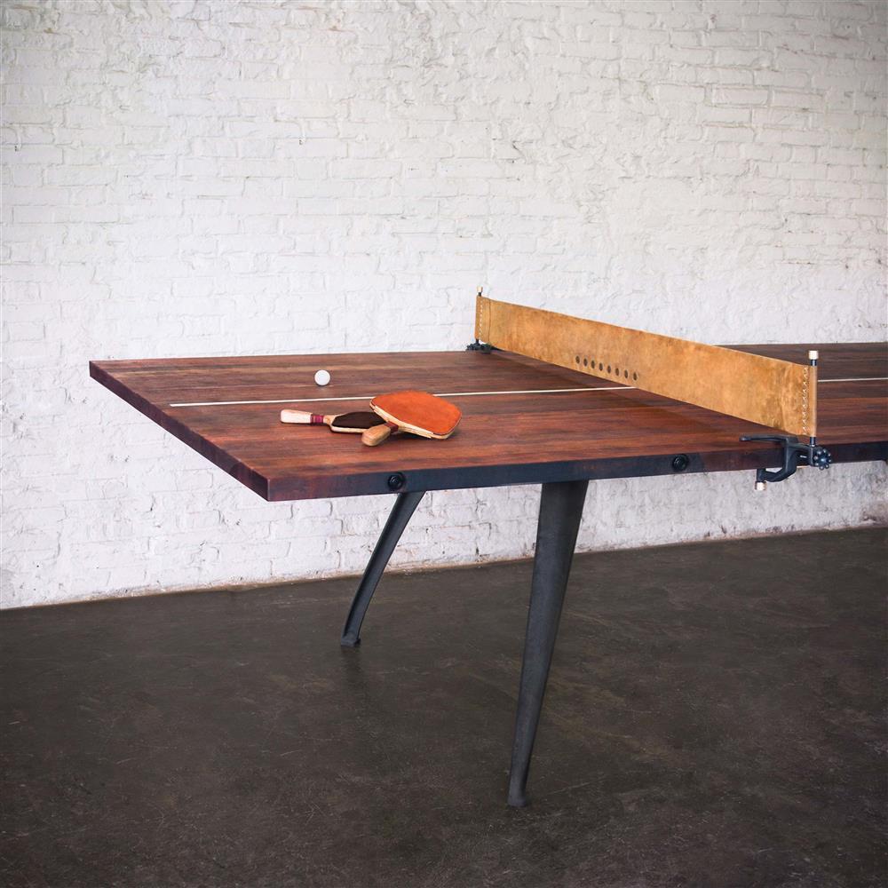 Palazzo industrial loft wood metal ping pong table kathy - Table basse metal industriel loft ...