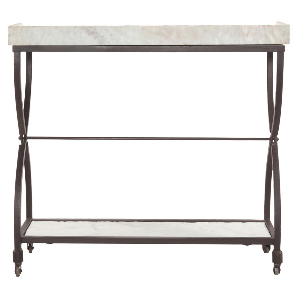 Amazing Jorn Industrial Hourglass White Marble Console Table | Kathy Kuo Home ·  View Full Size ...