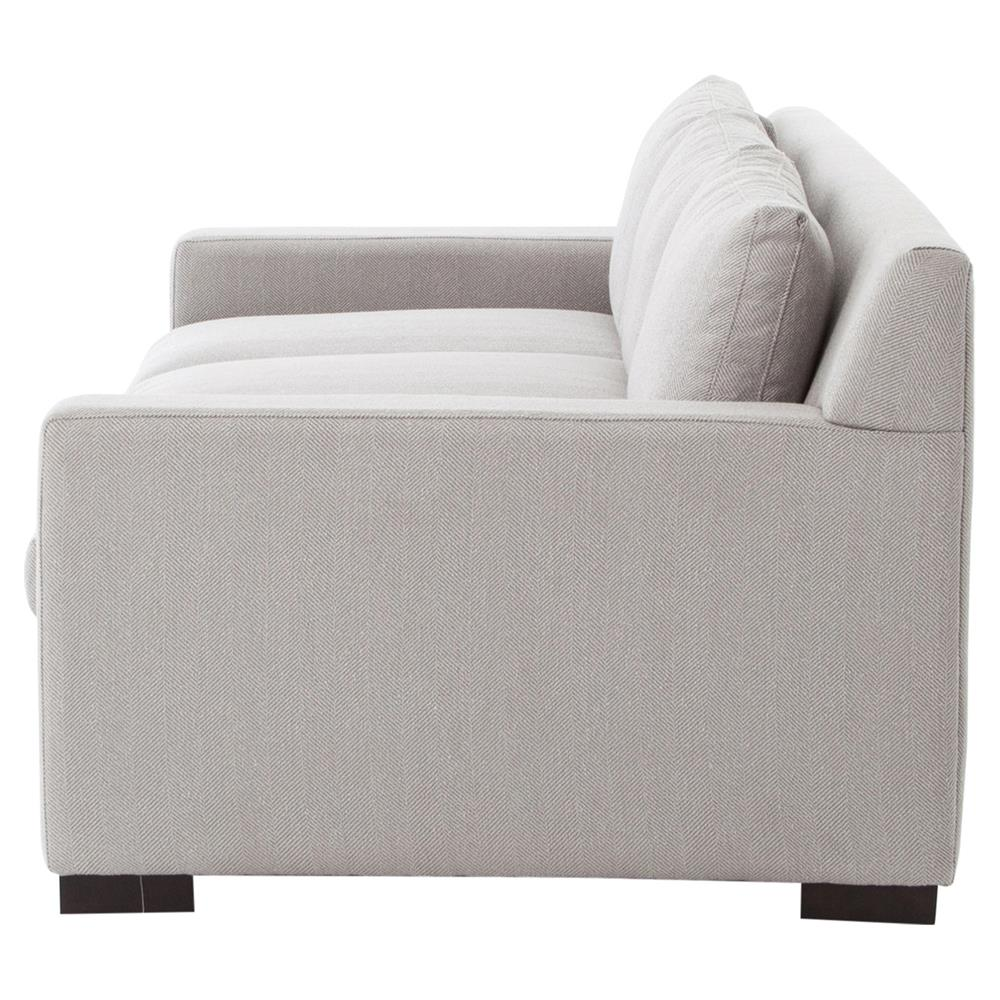 Modern Low Back Sofas Burk Modern Ivory Grey Low Back Sofa Kathy Kuo Home Minotti Jagger Low