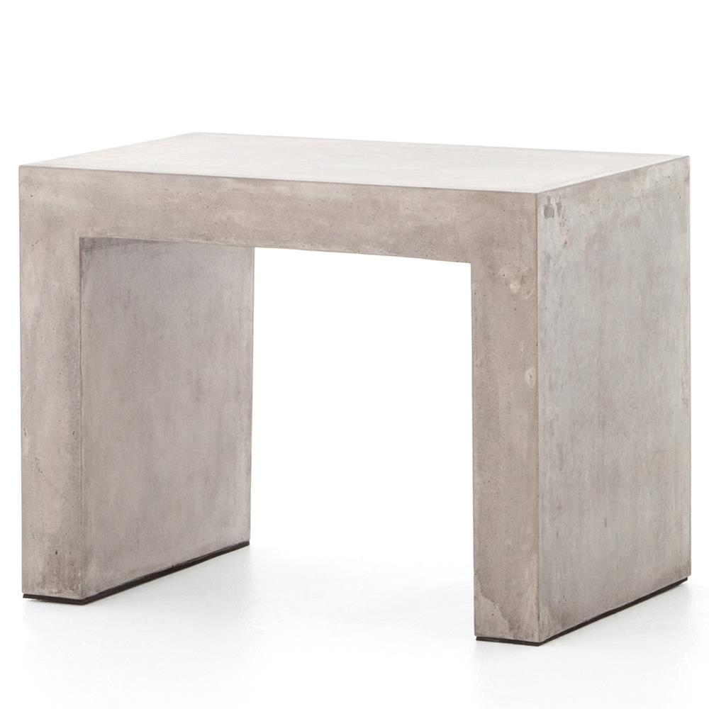 concrete side table. View Full Size Concrete Side Table