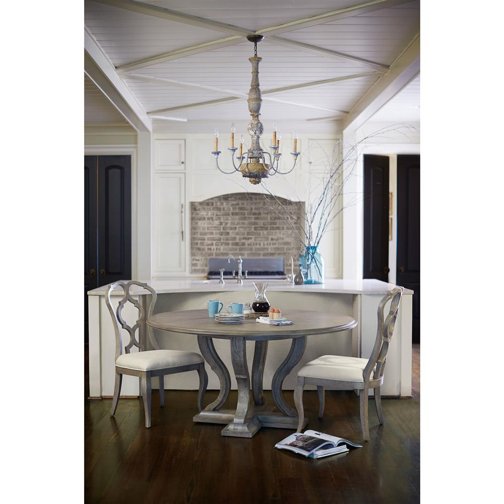 French country gray dining room - French Country Gray Dining Room 17