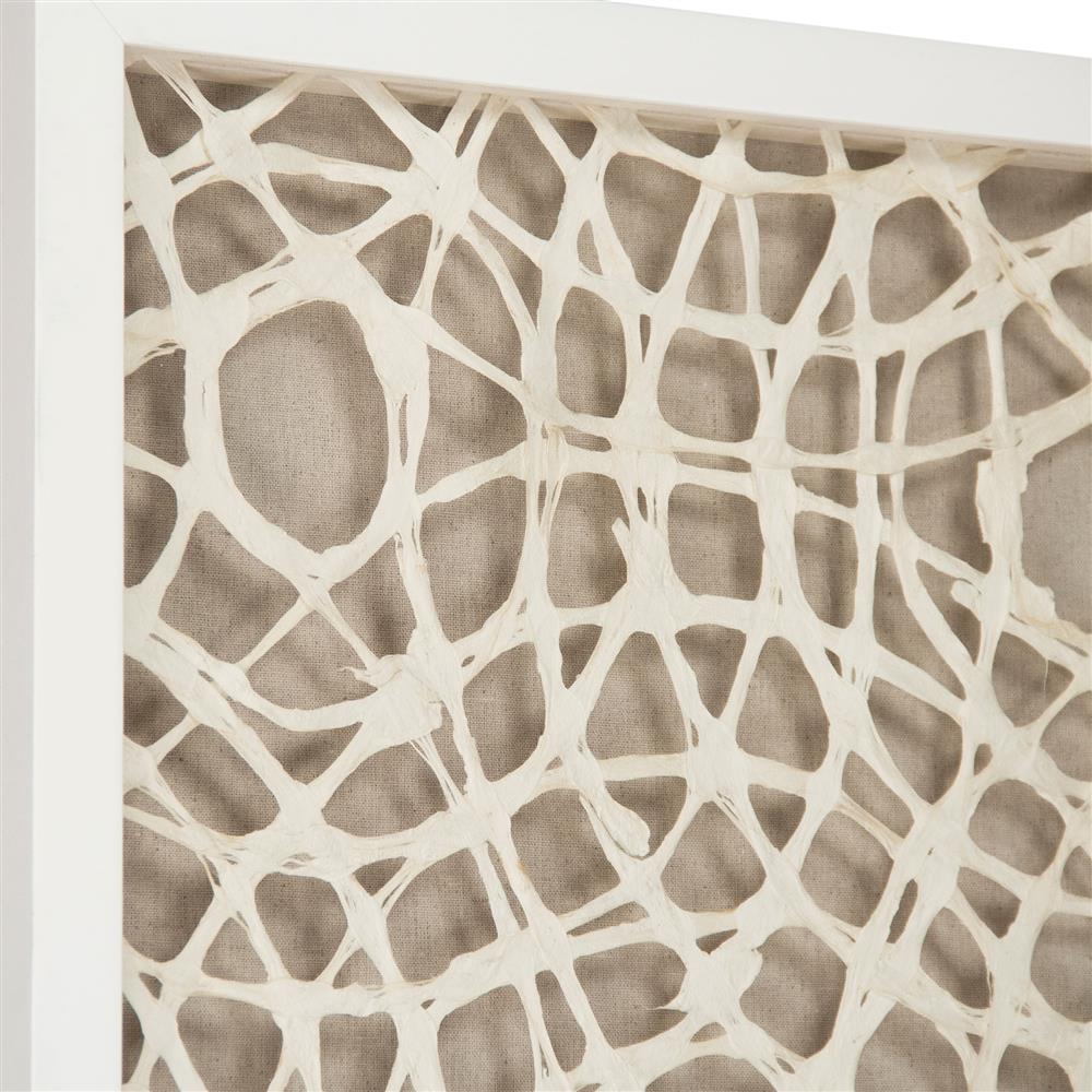 Coastal Modern Abstract Paper Framed Wall Art - I   Kathy ...