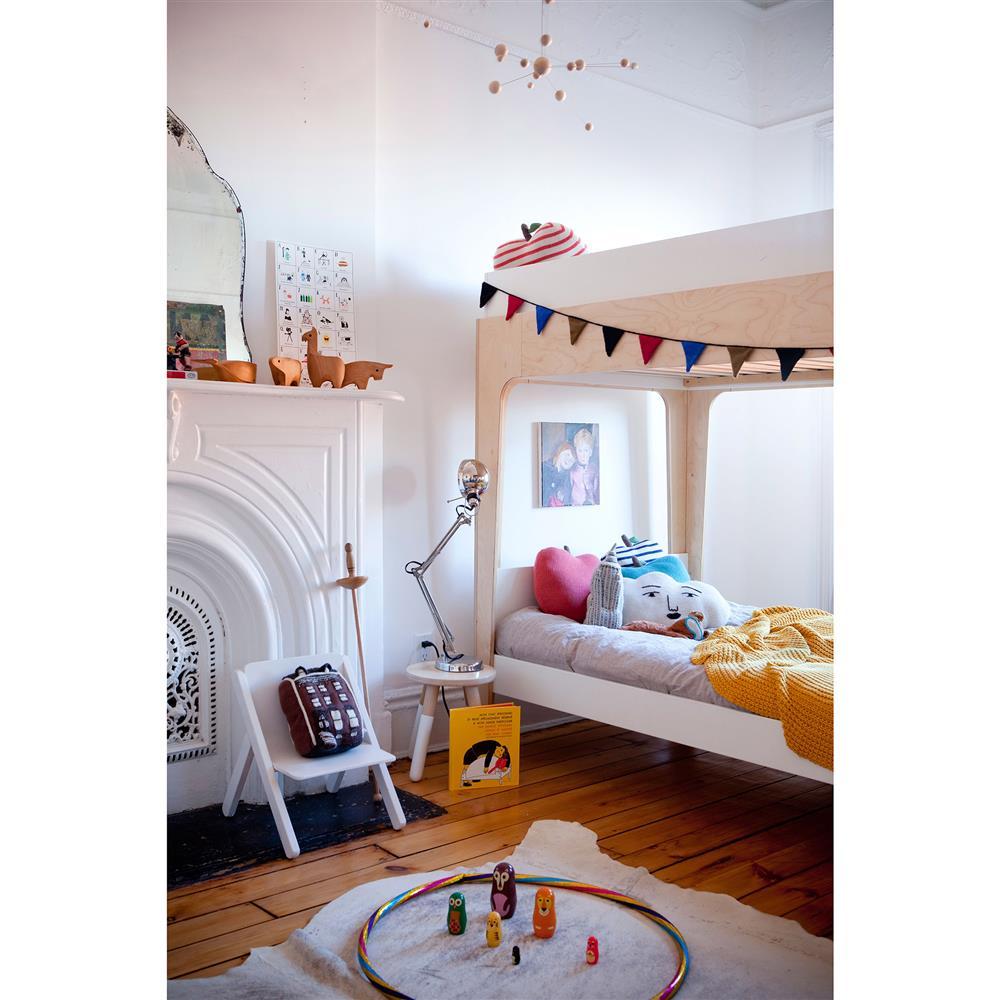 Oeuf Perch Bunk Bed: Perch Modern Classic Oeuf Birch Twin Bunk Bed