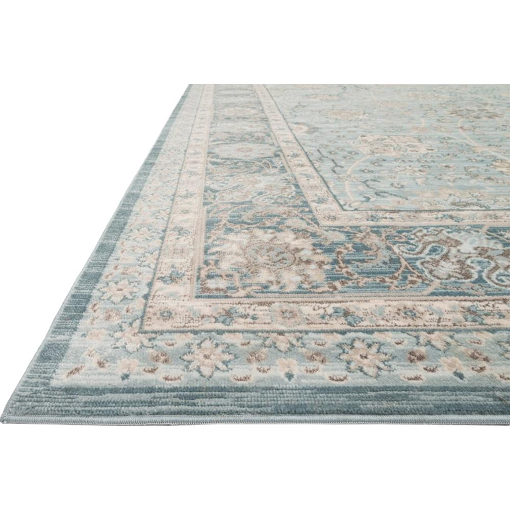Aimee French Antique Soft Blue Scroll Rug 12x15 Kathy