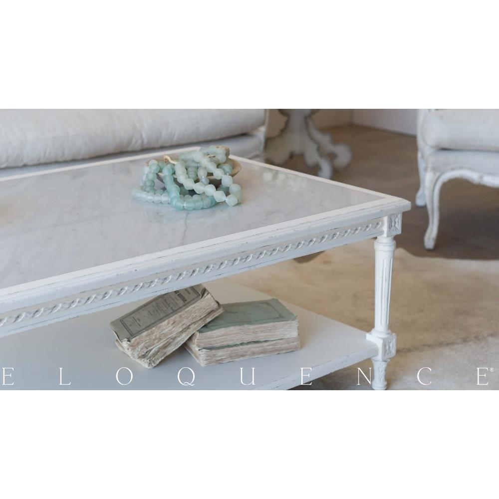 Antique White Coffee Tables Eloquencer Grande Le Courte Coffee Table In Antique White Kathy Kuo