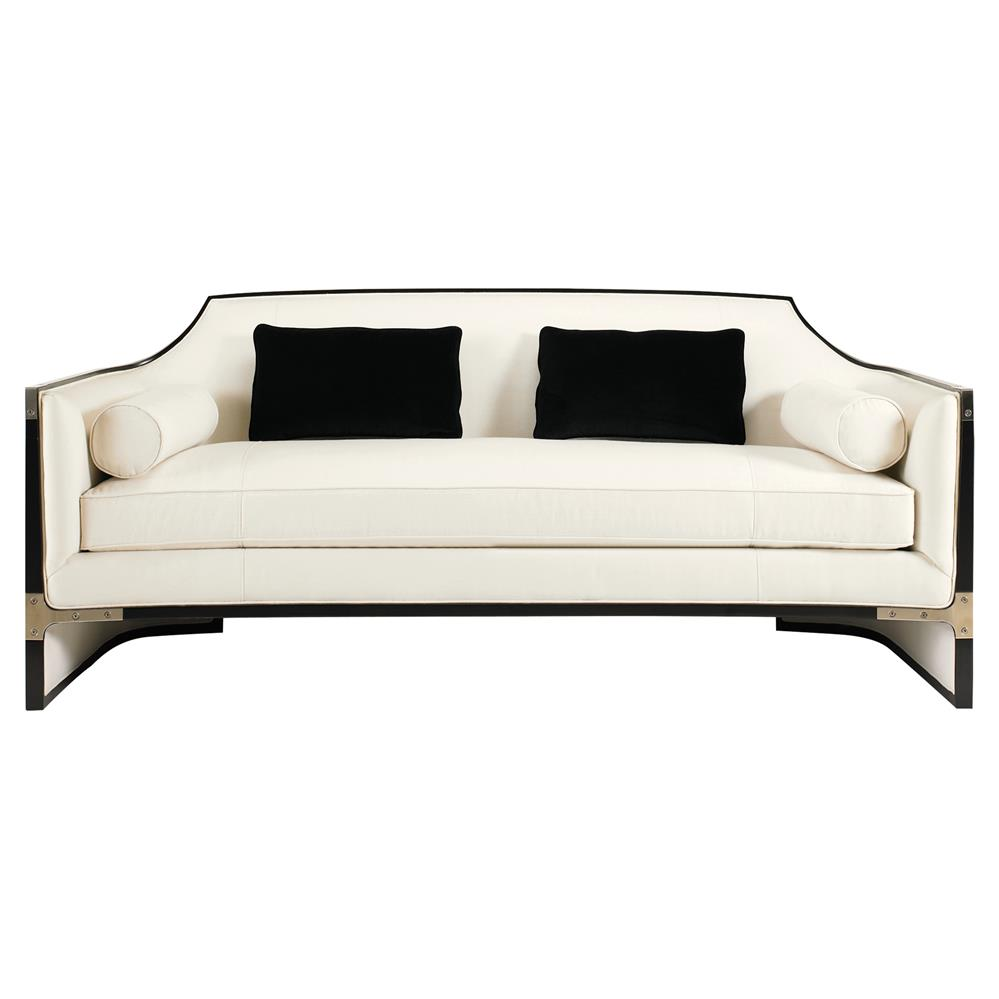Modern black sofas - View Full Size