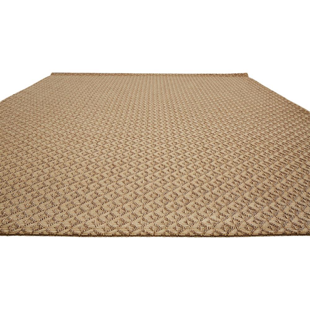 cyrene geometric beige metallic weave outdoor rug