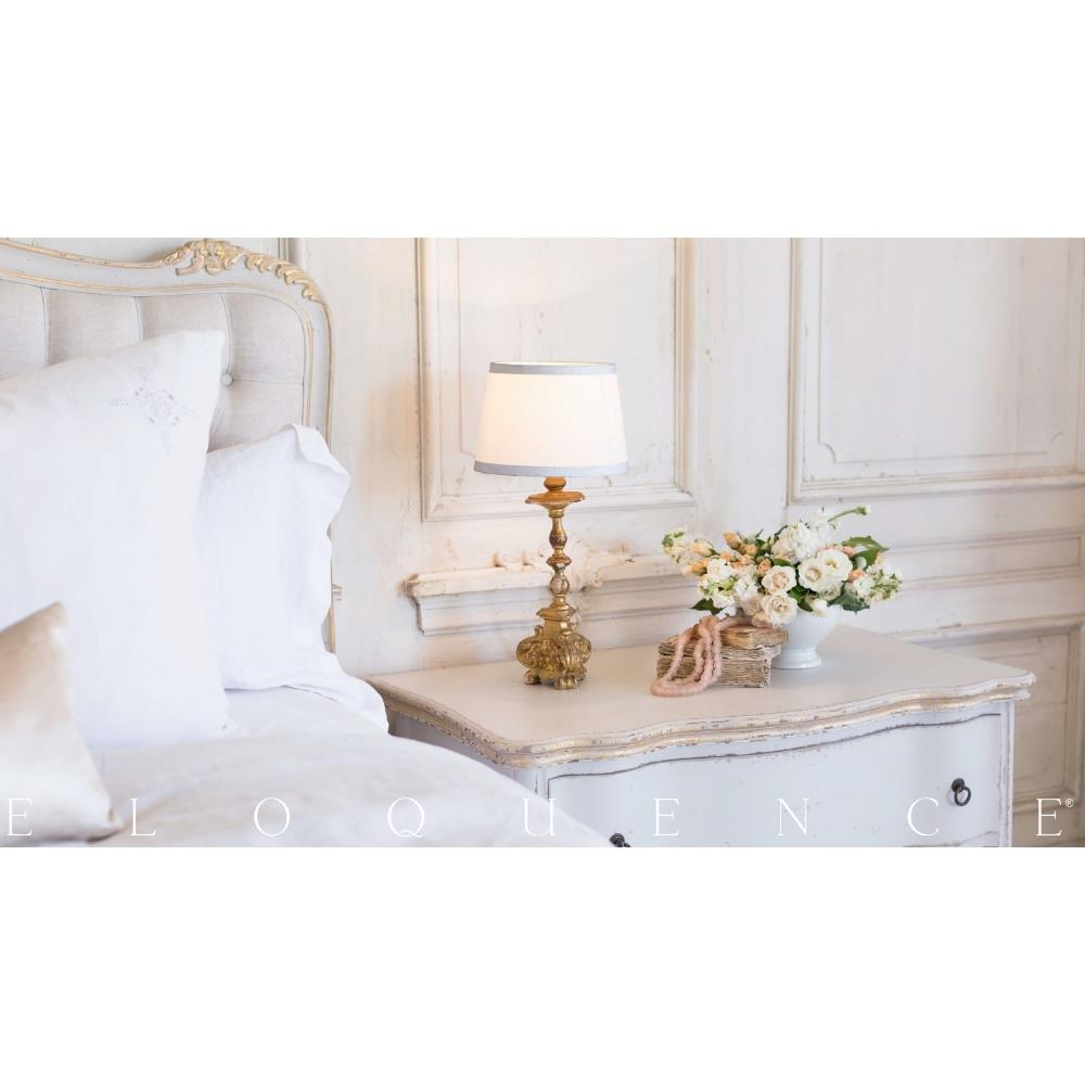 Eloquence® Roma Gold Taupe Two Tone Commode  Kathy Kuo Home