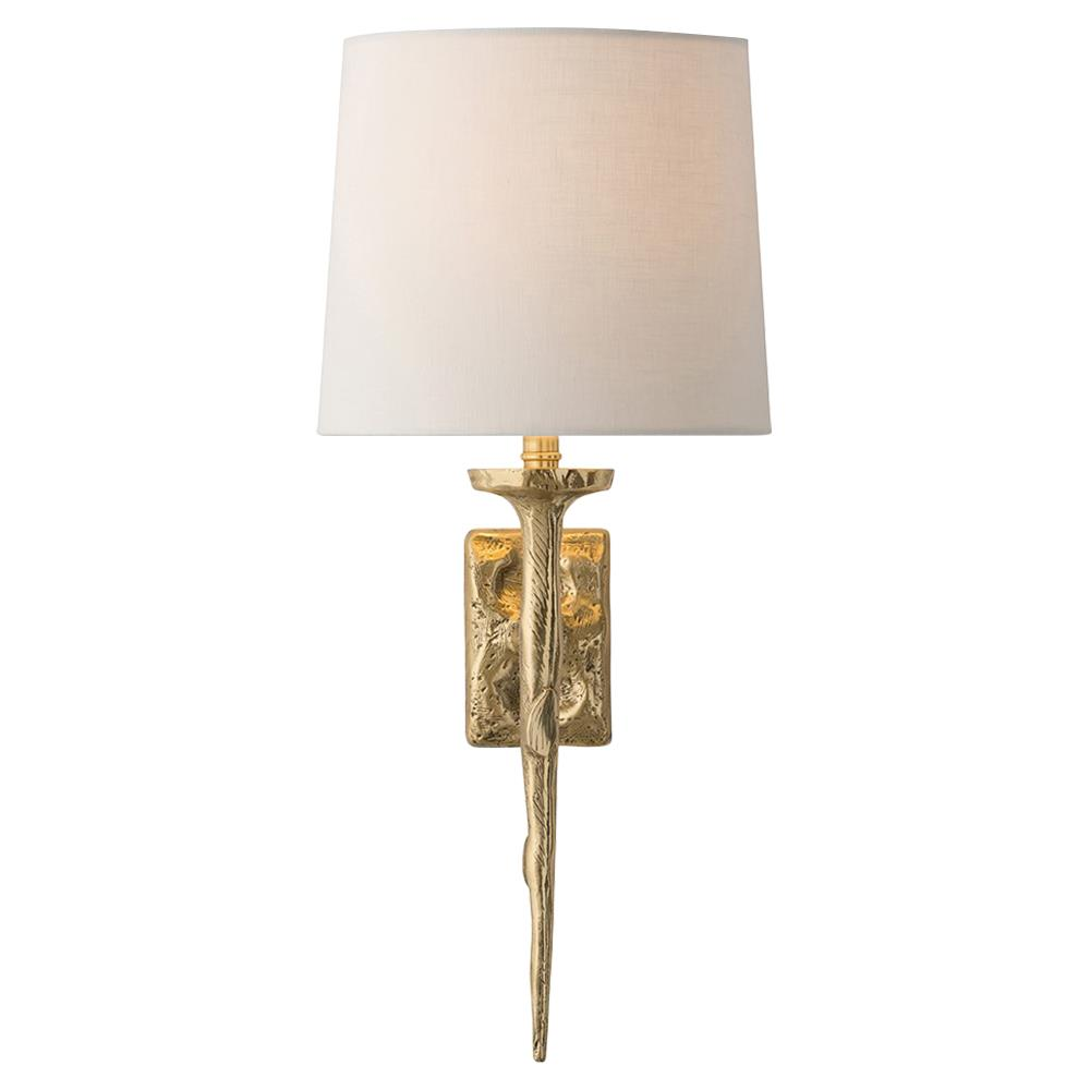 Modern Gold Wall Lights : Jerrion Global Modern Molten Gold Wall Sconce Kathy Kuo Home